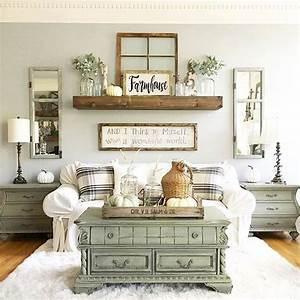 Amazing, Rustic, Farmhouse, Style, Living, Room, Design, Ideas, 14