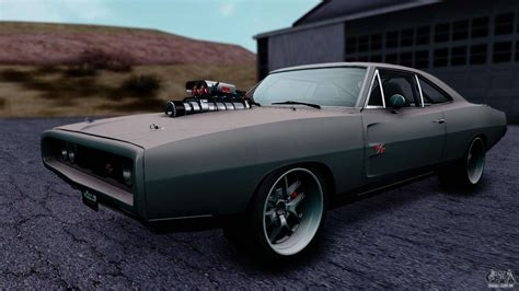 1970s Dodge Charger by Dodge Charger Rt 1970 Fnf7 Para Gta San Andreas