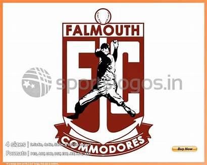 Baseball Falmouth Sports Embroidery Commodores Sportslogos League