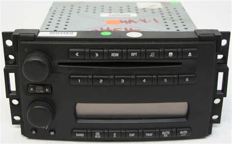 2005 2006 2007 saturn relay factory stereo 6 disc changer
