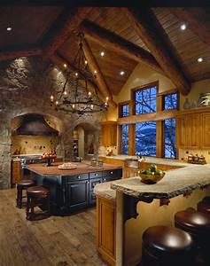 Mountain Lodge - Traditional - Kitchen - Phoenix - by