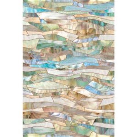 artscape 24 in x 36 in terrazzo decorative window film