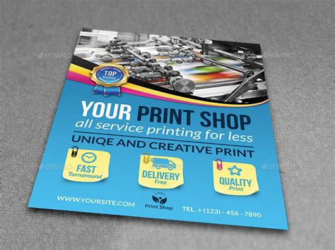 Print Shop Advertising Bundle Template By Owpictures