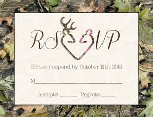 camo wedding invitations camo deer hearts wedding invitation and rsvp card