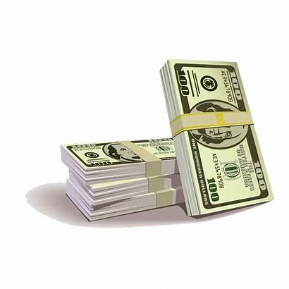 Dollar Bill Euro Hundred Clipart States United