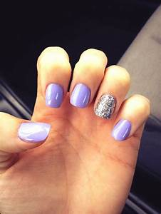 Light purple nails | Nails | Pinterest
