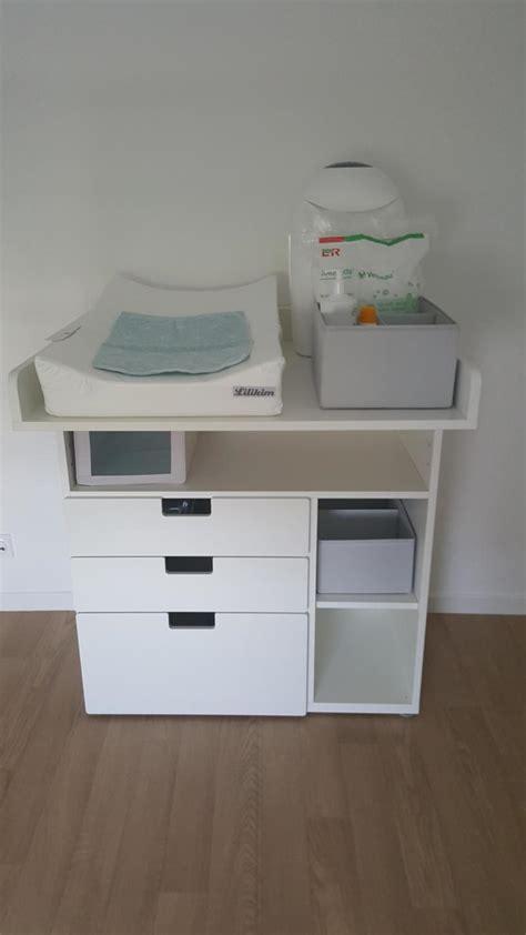 ikea meuble bureau rangement table à langer évolutive stuva ikea avis