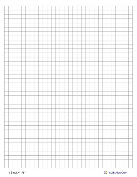 full page graph paper template world  printables