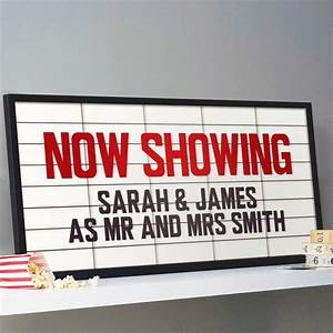 personalised cinema marquee sign print the old movie With cinema sign letters