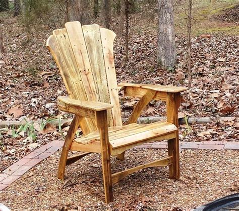 pallet adirondack chair plans diy pallet adirondack chair with table