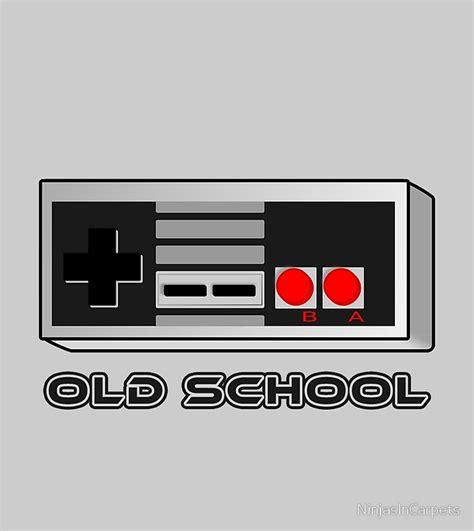 Nintendo Old School Drawstring Bags Redbubble