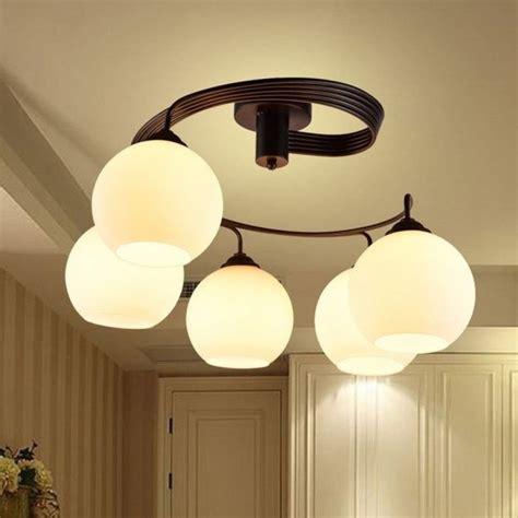 lamparas de techo modernas de comedor lamparas de techo