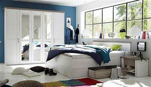Schlafzimmer Set Günstig : schlafzimmer komplett set 4 tlg luca bett 180 kleiderschrank kommoden wei ebay ~ Markanthonyermac.com Haus und Dekorationen