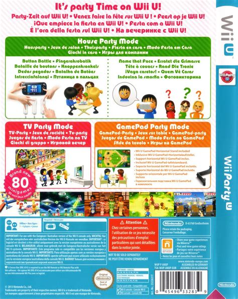 wii party  details launchbox games