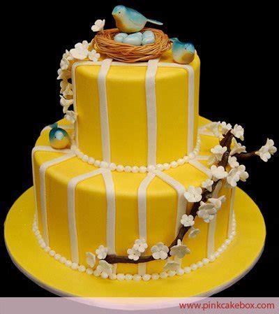 penny sanford designs happy yellow birthday cake