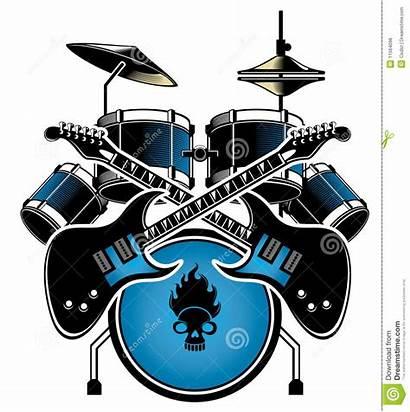 Drum Guitar Bass Clipart Clip Drums Musical