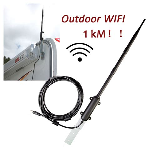 wlan überwachungskamera outdoor high power 1000m outdoor wifi usb adapter wifi antenna 802 11b g n signal lifier usb 2 0