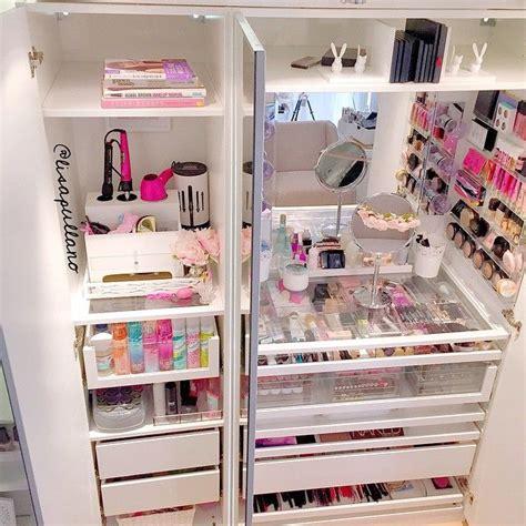 bureau maquilleuse 10 idées pour ranger maquillage coin beauté