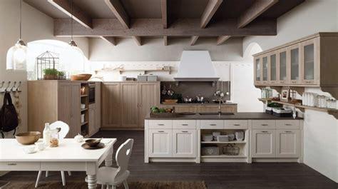 cocinas blancas modernas  detalles en madera