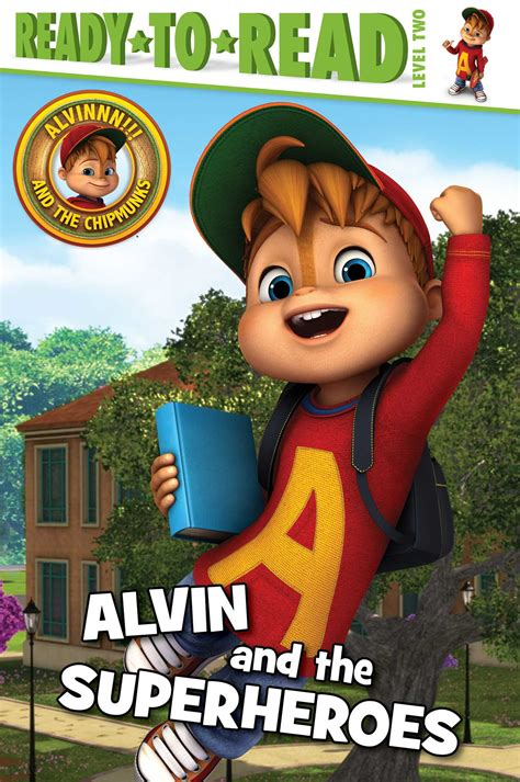 alvin   superheroes book  lauren forte