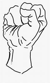 Fist Coloring Power Clipartkey Svg Vector Wikimedia Commons sketch template