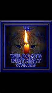 Kentucky Wildcats Happy Birthday