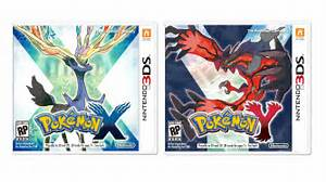 pokemon x and pokemon y box art and new trailer revealed