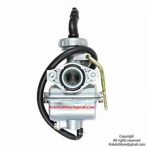 Pz19 Carburetor Manual Cable Choke  U00bb Roketa Parts Online