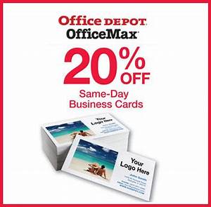 Office depot same day business cards ikwordmamainfo for Same day business cards office depot