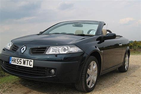 renault megane 2006 renault megane cc 2006 road test road tests honest john