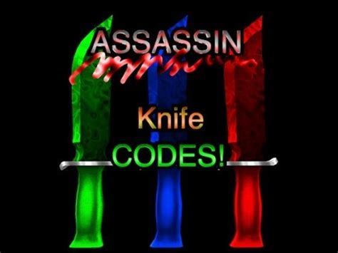 roblox assassin codes youtube