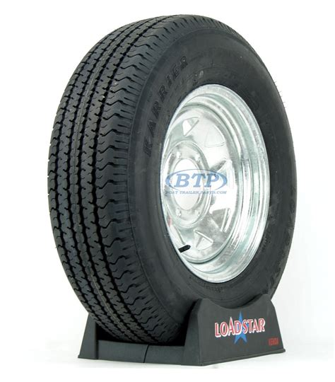 6 Lug Boat Trailer Tires by Boat Trailer Tire St225 75r15 On Galvanized Wheel 6 Lug By