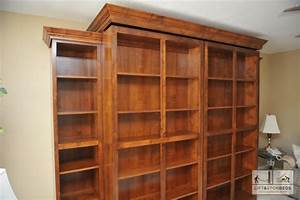 library-bed-in-alder-with-side-bookcases