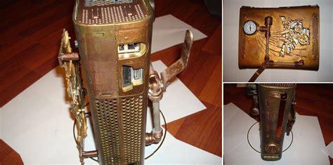 creative steampunk gadgets  designs