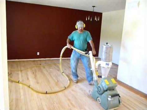dustless hardwood floor sanding refinishing red oak top