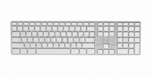 Keyboard with blank keys. | Stock Photo | Colourbox
