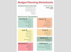 Financially Savvy Build Your Budget ⋆ Sugar, Spice and