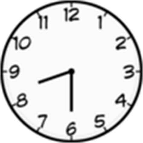 Outline Of Blank Clock Faces  New Calendar Template Site