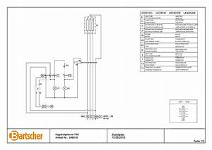 Bartscher 286610 Tilting Frying Pan 700 E50lek Wiring