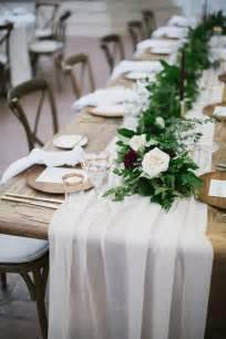 500cm length Beige silk chiffon table runner for wedding