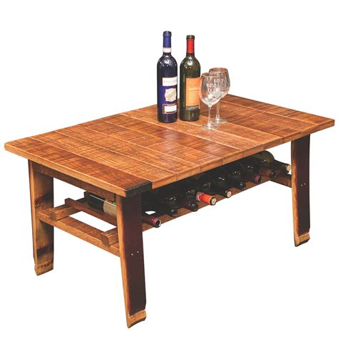 Wooden Barrel Coffee Table Furniture  Roy Home Design