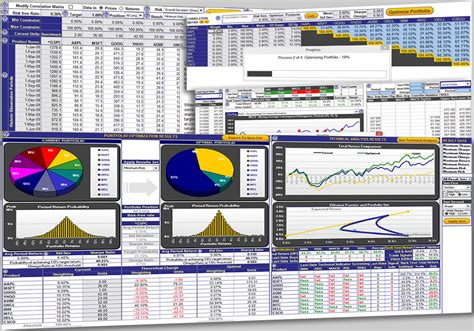 excel portfolio optimization template