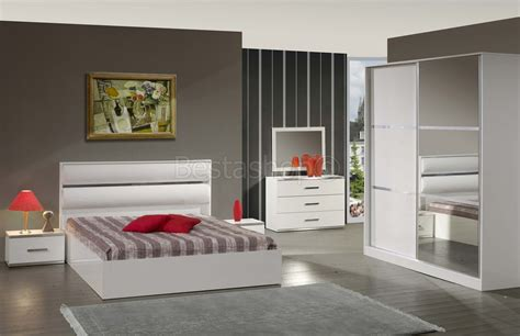 chambre coucher adulte chambre bois massif adulte