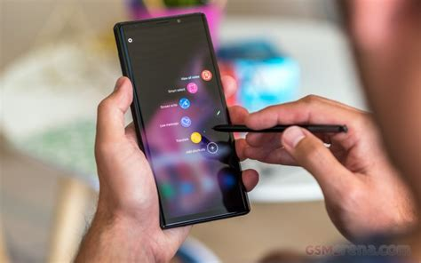 samsung galaxy note10 pro to a 4 500 mah battery gsmarena news
