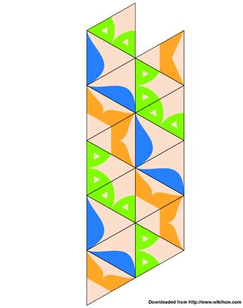 flexagon template how to make a flexagon 13 steps with pictures wikihow