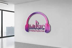 Professional, Music, Logo, Design, Free, Psd, Template