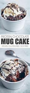 protein chocolate mug cake vegan gluten free uk