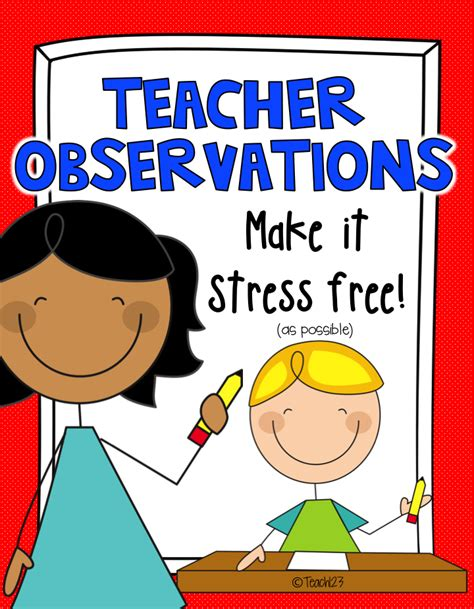 evaluation observation tips cool school ideas evaluation elementary