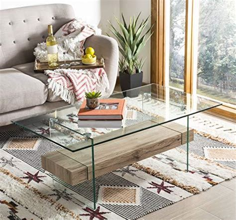 Get the best deal for safavieh iron coffee table tables from the largest online selection at ebay.com. Kayley Rectangular Modern Glass Coffee Table - $322.9900 | OJCommerce
