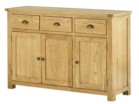 3 Door Sideboard portland oak 3 door sideboard